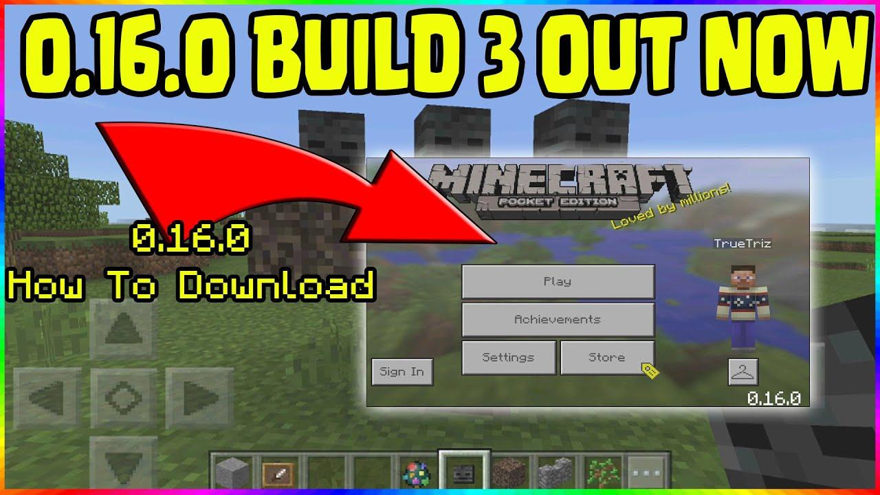 Скачать Minecraft PE 0.15.0: build 1,2,3,4 - 1.0, 0.17.0 ...