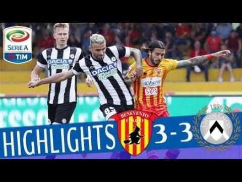 Benevento - Udinese 3-3 - Highlights - Giornata 35 - Serie A TIM 2017/18