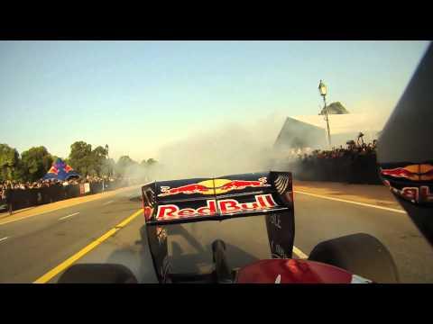 Red Bull demo in New Delhi, India with Daniel Ricciardo [HD]