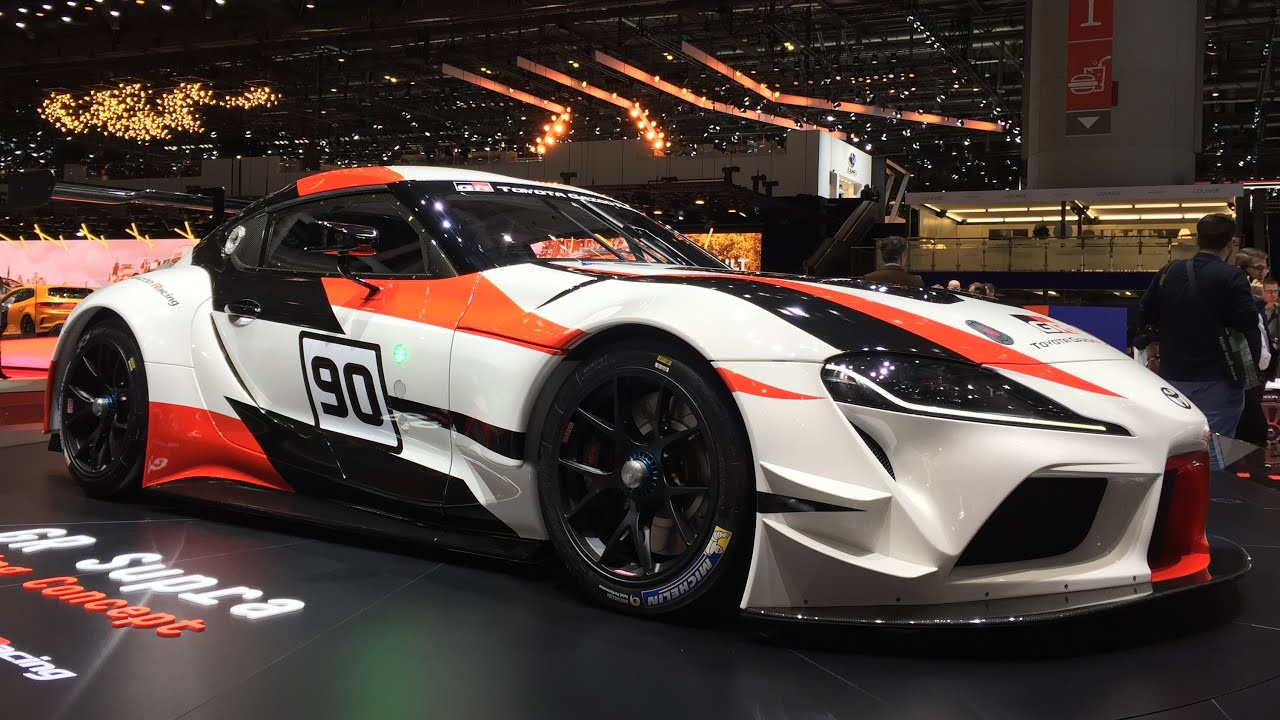 ... Toyota GR Supra Racing Concept Heralds The Arrival Of The All New 2019  Supra Road ...