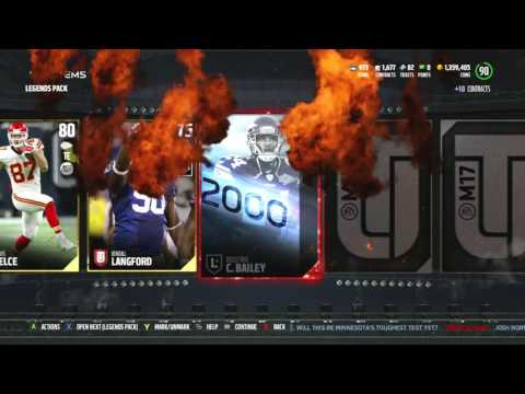 Gauntlet Master! TONS OF PACKS! 89 Julius Peppers! Madden 17 Ultimate Team