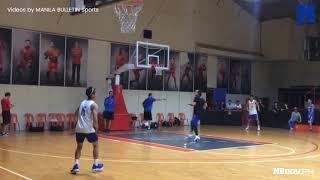 Ricci Rivero and Kai Sotto join Gilas Pilipinas training