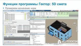 Автоматизация сметных расчетов на основе модели Autodesk Revit