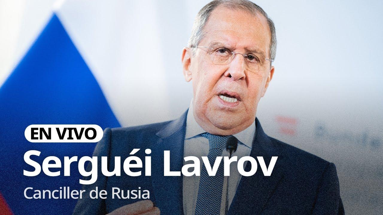 Download Serguéi Lavrov, canciller de Rusia, interviene en la ONU (UNGA 2021)