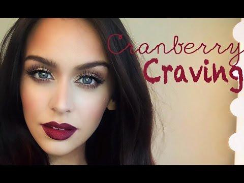 Cranberry Craving | Color Series +Makeup Tutorial