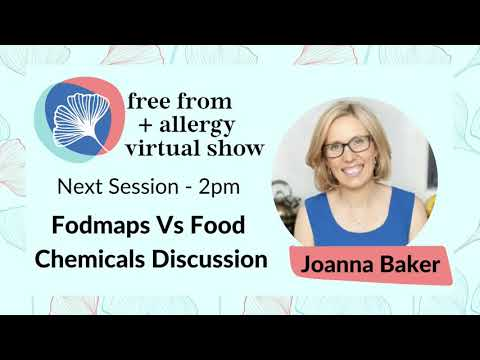 Joanna Baker: FODMAPs vs food chemicals