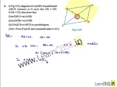 Ncert solutions for class 9 maths areas of parallelograms and ncert solutions for class 9 maths areas of parallelograms and triangles exercise 93 ccuart Gallery