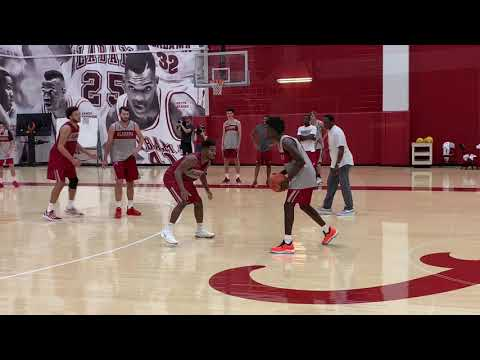 First look at 5-star recruit Kira Lewis' at Alabama practice