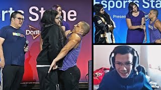 IMAQTPIE VS TYLER1 DUEL AT TWITCHCON BY RIOT GAMES | TYLER1 RUNS IT DOWN WITH HIS TEAM | LOL