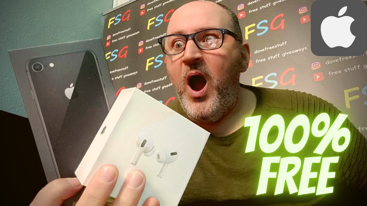 Download iPhone and AirPods Pro Giveaway