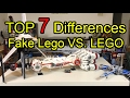 TOP 7 Differences between FAKE Lego & Lego