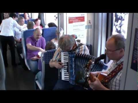 Mit dem Musikexpress über die Hohenlohebahn