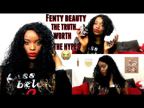 THE TRUTH ABOUT FENTY BEAUTY | FULL FACE OF FENTY BEAUTY...SPENT OVER £200. WORTH IT? | ANGEL UCHE