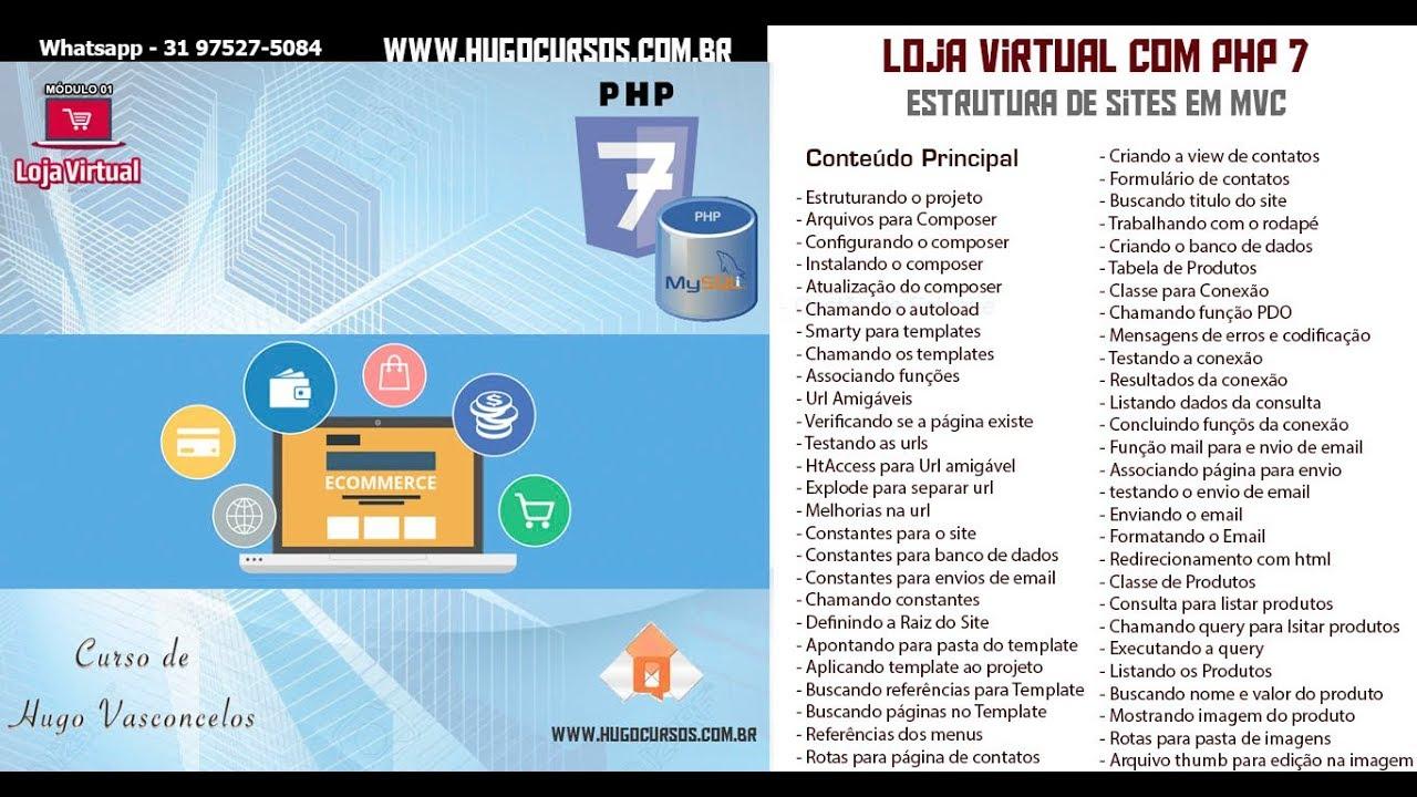 92cb191f3 Loja Virtual com PHP 7 - Aula 32 Criando o Banco de dados - YouTube