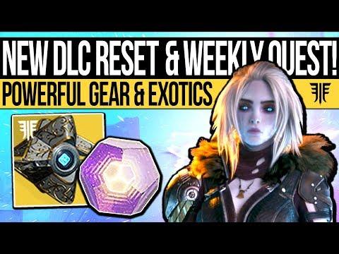 Destiny 2 | WEEKLY DLC RESET & NEW REWARDS! Powerful Gear, Activities, Exotics & Eververse (2nd Oct)