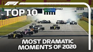 Top 10 Dramatic Moments of the 2020 F1 Season!