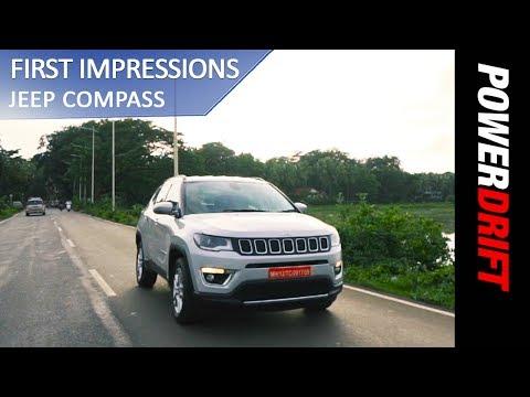 Jeep Compass - First Drive : PowerDrift