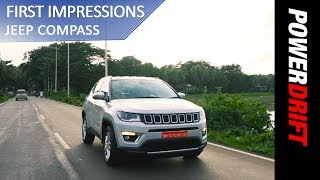 Jeep Compass - First Drive : PowerDrift