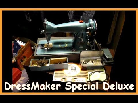 Dressmaker Special Deluxe Sewing Machine YouTube Magnificent Dressmaker Special Sewing Machine