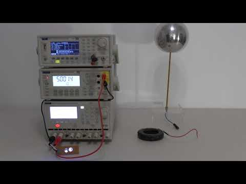Solution for illuminating a LED with only one wire and Power measurements of signal and load