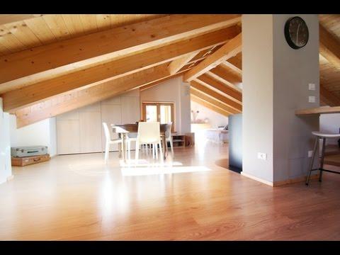 Sottotetto in legno edilnet it youtube for Illuminazione sottotetto legno