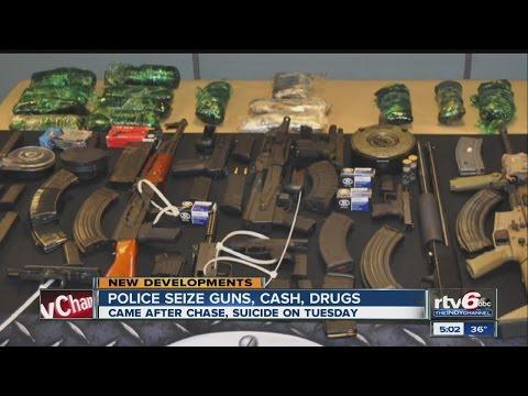 DEA, IMPD Seize Guns, Cash And Drugs
