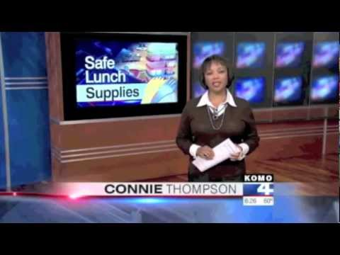 EasyLunchboxes Featured On Komo News, Seattle WA: Kid-safe, Eco-friendly Lunch Box Options.