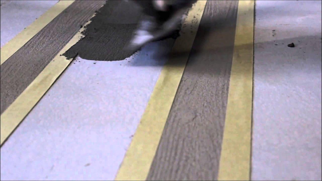Kronos Paint Cemento Design Effetto Cassero Youtube