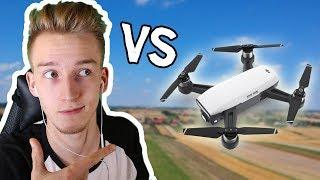 ŚCIGAM SIĘ Z DRONEM! 🏁