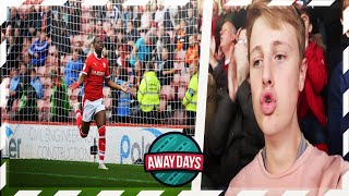 AWAYDAYS: BARNSLEY FC 3 - LUTON TOWN 2 - A STREAK?!