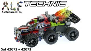 Lego Technic 42072+42073 Whack! ´n´ Bash! - Lego Speed Build Review