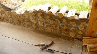 DIY cordwood construction - Semi tutorial