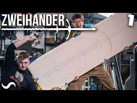 MAKING A ZWEIHANDER SWORD!!! Part 1