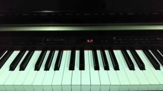 เพลงรักจากฉัน-โบ สุนิตา (piano cover)