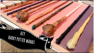 Hey everyone! I decided to try to make Harry Potter wands with insp...