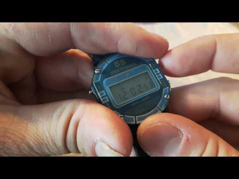 Подробный обзор часов -  Электроника 55в  с подробным мануалом.