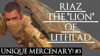 DESOLATION OF MORDOR - UNIQUE MERCENARY & QUOTE #3 RIAZ THE LION OF VANISHING SONS