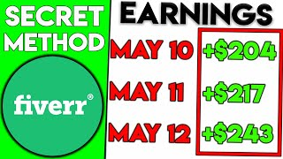 Make $19,960 On Fiverr Without Any Work (Secret Method)