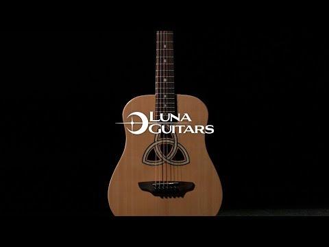 Luna Safari Trinity Travel Guitar  | Gear4music demo