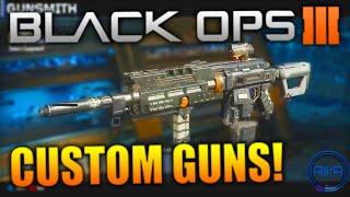 call of duty black ops 3 gunsmith custom gun design cod bo3 multiplayer gameplay