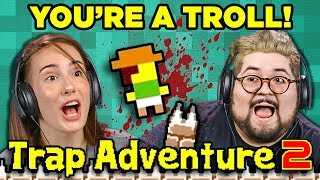 Download YOU'RE A TROLL!   TRAP ADVENTURE 2 (Adults React: Gaming) Mp3 and Videos