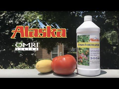 How To Use Alaska Fish Fertilizer