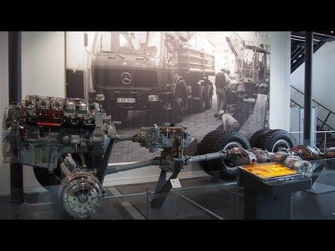 How a truck 6x6 wheel drive works? - Munich: Deutsches Museum