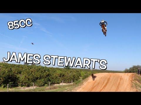 13 YEAR OLD HITTING HUGE JUMPS!!! James Stewart's!