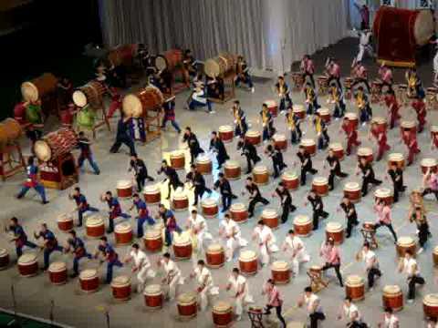 2008-11-21自衛隊音楽祭(7)和太鼓