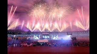 SEA Games 2019: Closing Ceremony - Fireworks display