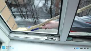 Ремонт пластиковых окон в квартире (замена стеклопакета, замена фурнитуры, регулировка окна)(, 2015-03-23T08:19:39.000Z)