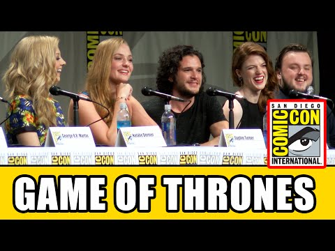 Game of Thrones Comic Con 2014 Panel