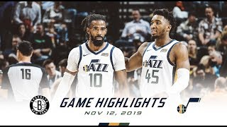 Highlights: Jazz 119 | Nets 114