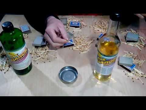 Как защитить спички от сырости